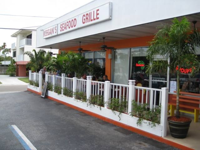 Keegans Seafood; Best Seafood on the Gulf Beach of Tampa Bay; Indian Rock Beach; Featured on The Food Network: Diners Drive-ins and Dives