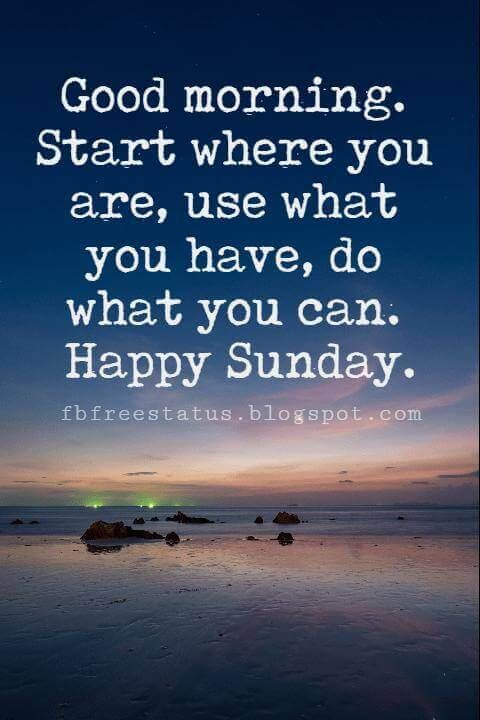 Sunday Inspirational Quotes Quotes