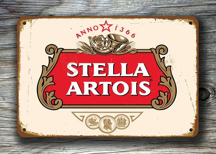 STELLA ARTOIS SIGN - Stella Beer Sign http://www.classicmetalsigns.com/product/stella-artois-sign-stella-beer-sign/