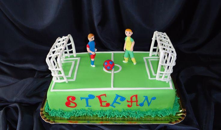 Teren de fotbal pentru Stefan