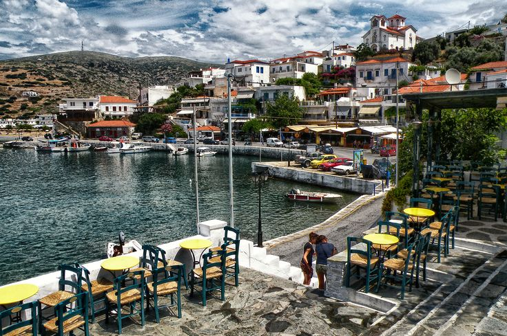 Batsi - Andros, Greece