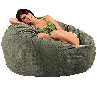 CordaRoys Full Size Convertible Bean Bag Chair by Lori Greiner — QVC.com