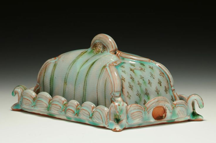 Catherine Boswell butter dish
