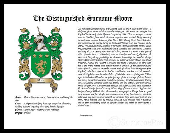 LS Coat Of Arms Family Crest Design Last Name Origin Geneology Surname Meaning History Heraldry Wedding Search Plaque Print Sign Scottish