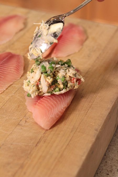 Crab & Asparagus-Stuffed Tilapia this Wednesday. What Are Your Favorite Stuffed Recipes?