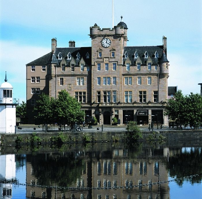 From WeddingVenues Malmaison Edinburgh On The Banks Of Firth Forth River In Leith North East