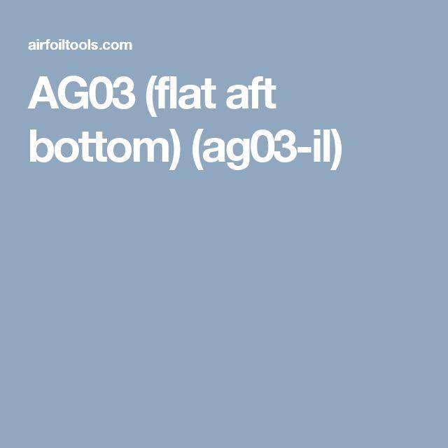 AG03 (flat aft bottom) (ag03-il)