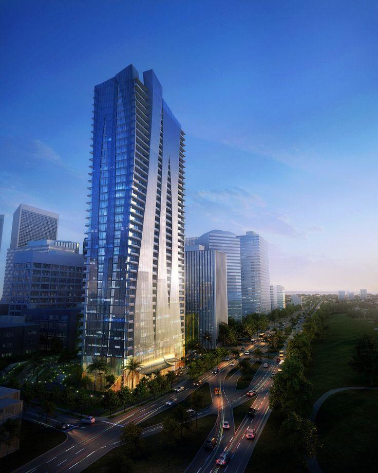 10,000 Santa Monica Blvd, #CenturyCity, #CA #architecture #design #cgi