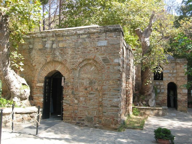 House of the Virgin Mary, Ephesus. For believers or doubters this is a beautiful place to visit
