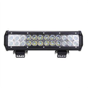 Rupse 72W LED Barre de Travail Phares étanche Longue Portée Led Projecteur pour Véhicule Tout-terrain Atv / Jeep /Bateaux / SUV / Camion /…