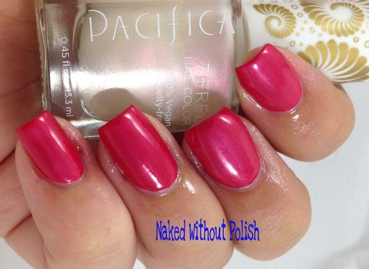 Pacifica Beauty Unicorn Horn Over Crimson Kimono Pacifica Swatches Pinterest Horns