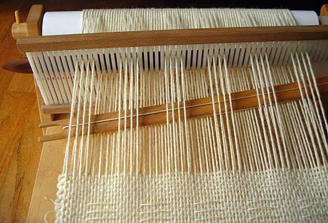 pattern on a rigid heddle loom