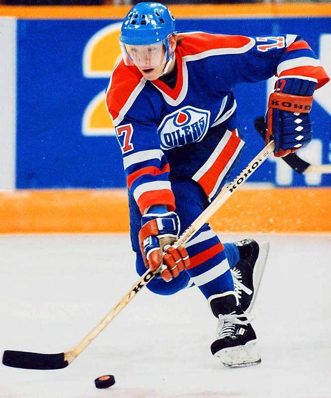 Edmonton Oilers' Jari Kurri. #Oilers