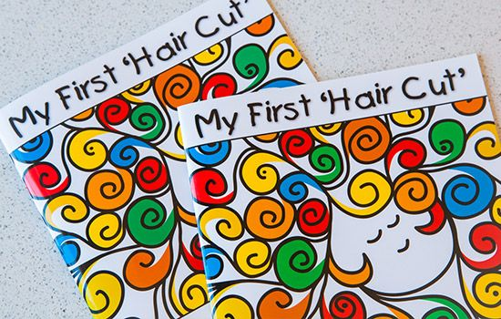 My First  Hair Cut  Book Click to View