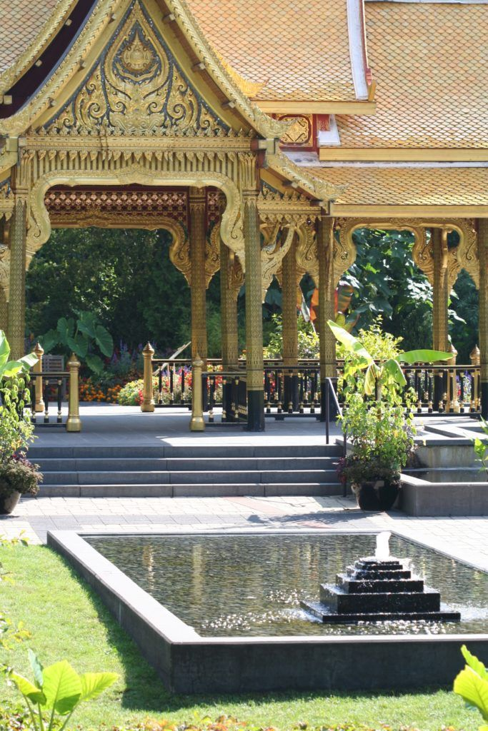 Fall Comes To Garden Of Thai Pavilion >> The Thai Pavilion Is A Highlight At Olbrich Botanic Garden In