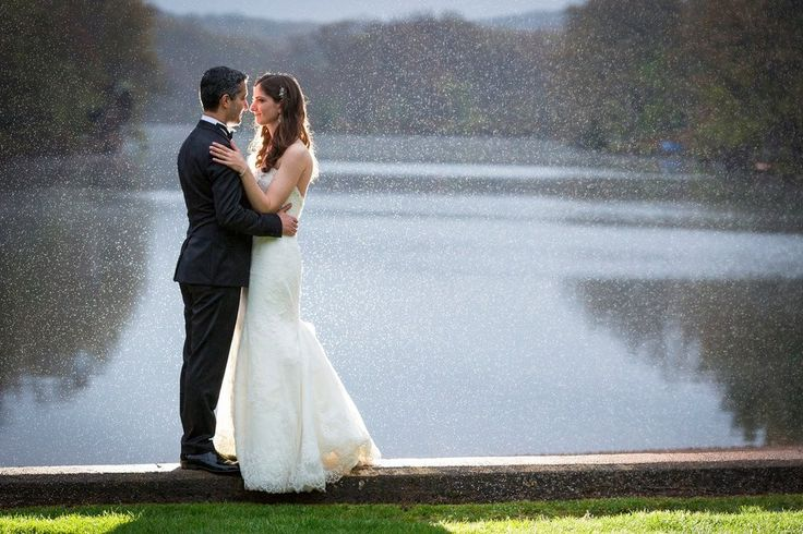 Rainy Lake Wedding | POPSUGAR Love & Sex