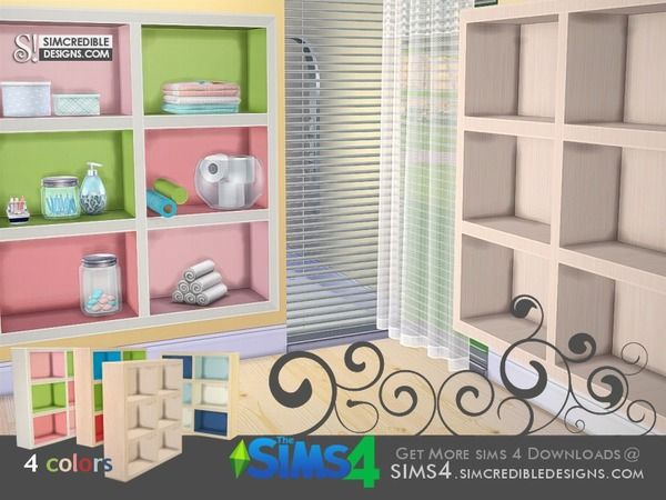 SIMcredible!'s Little Bubbles - Shelves
