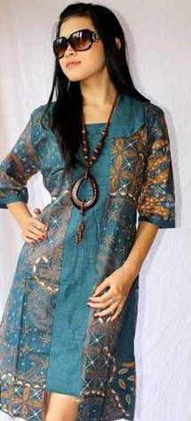 batik fashion for teenager