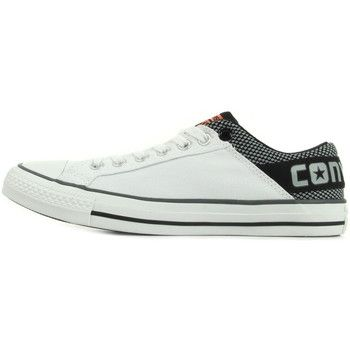 fantastische Converse ct band ox white stone black heren sneakers (Wit)