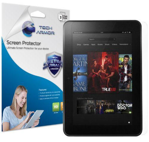 """#good Tech Armor HD Clear Screen Protector with Lifetime Replacement Warranty for Amazon New Kindle Fire Tablet HD 7"""" (3 Pack) [does not fit Original Kindle Fire SD]S   - http://wp.me/p291tj-dJ"""