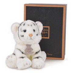 Histoire d'Ours Peluche Tigre Blanc Authentiques Histoire d'Ours