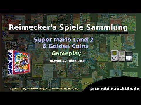 Reimecker's Spiele Sammlung : Super Mario Land 2 : 6 Golden Coins