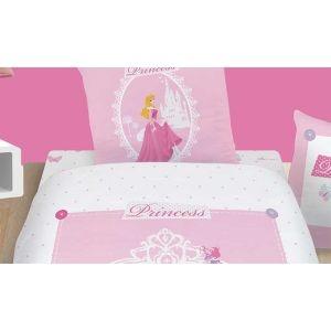 """Drap-housse Disney Princesses """"Charms""""  90 x 190 cm  Convient pour un lit 1 personne  100% coton  16,99 € TTC LESACCESSOIRES.FR"""