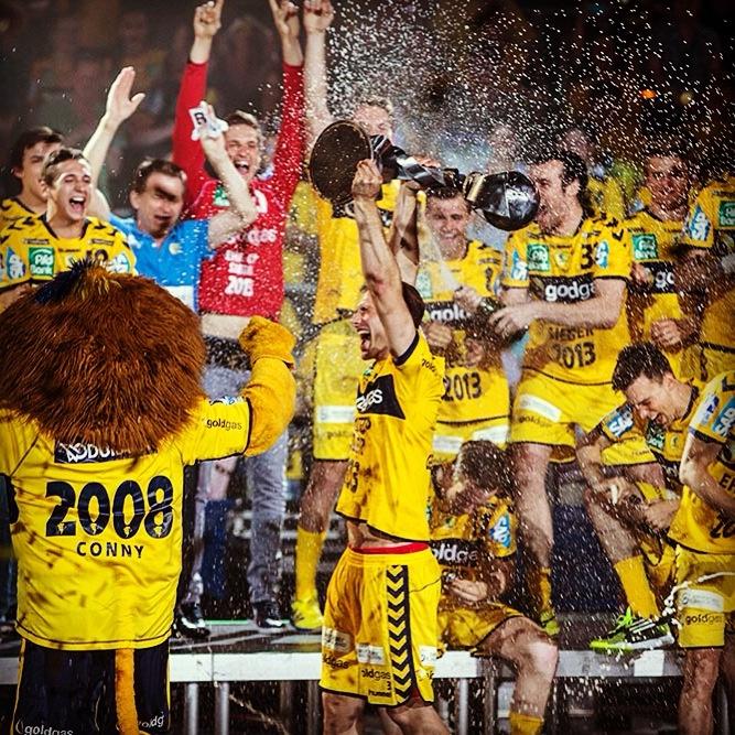 Saisonabschluss und Feier #ehfcupsieger