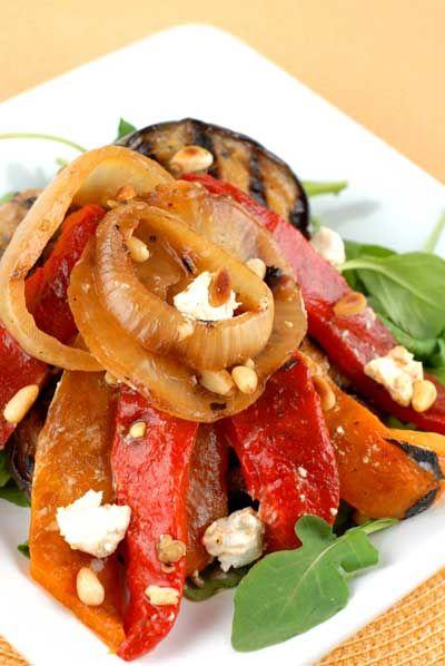 Grilled Vegetable Salad RecipeFree Glutenfree, Grilled Vegetable Salads, Gluten Recipes, Salad Recipes, Recipe Healthy, Glutenfree Recipe, Vegetables Salad Recipe, Gluten Free Recipes, Grilled Vegetables Salad