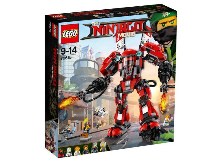 "LEGO Ninjago 70615 Ildrobot   The Lego Ninjago Movie   Mærker   Legetøj fra TOYS""R""US"