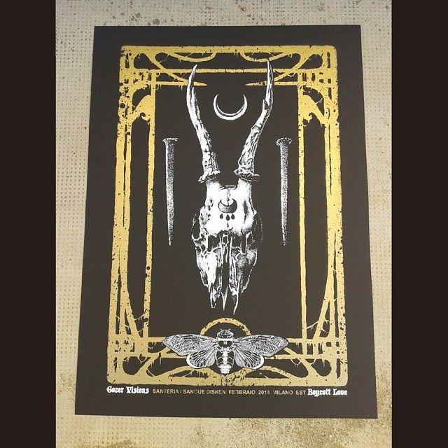 Exhibition Poster Gozer Visions
