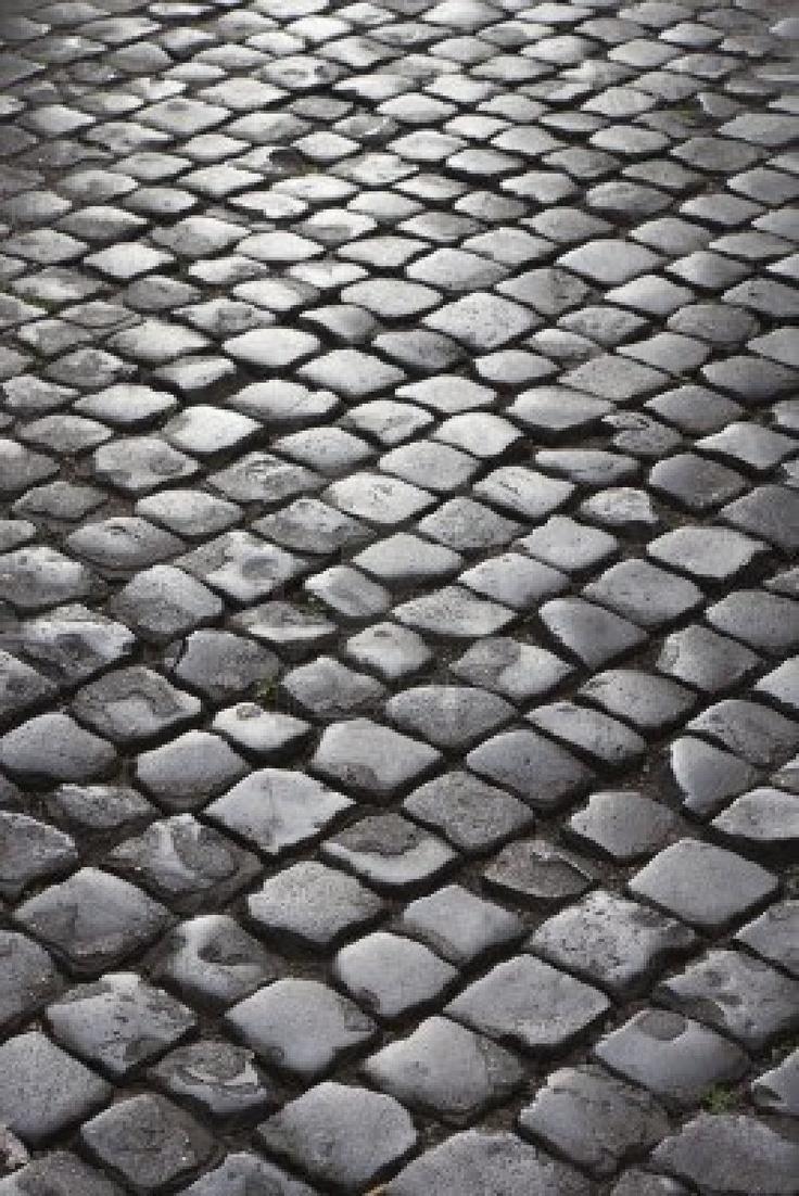 Cobblestone Kitchen Floor