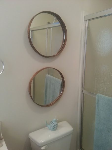 Recycle Cheese Box lid to beautiful Mirrors #CheeseBox, #Crate, #Mirror