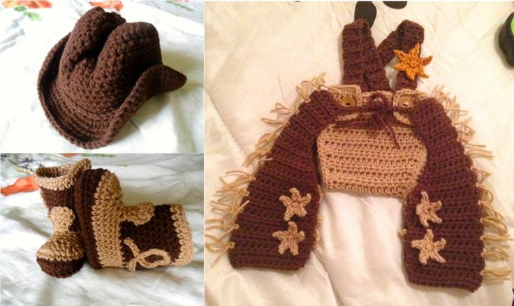 Baby Cowboy Costume - Baby Sheriff Costume - Made-to-Order - 0 - 12 Months - Perfect for Photo Prop