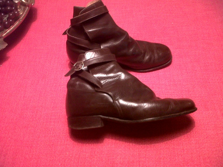 70s Riding ankle boots