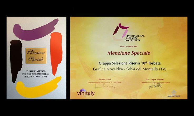 Premi Novaidea Menzione speciale Vinitaly Verona