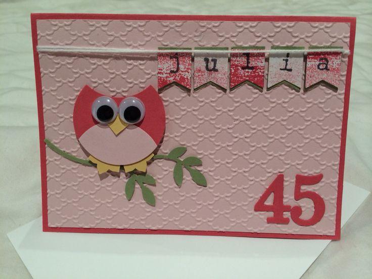 Circle Owl card