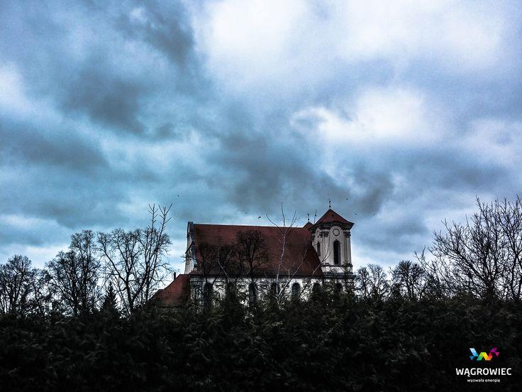 Klasztor pocysterski w Wągrowcu. Obecnie pod opieką oo. Paulinów. Fot. Łukasz Cieślak #wagrowiec #wielkopolska #polska #poland #kosciol #church #monastry #klasztor #szlakcysterski #cystersi #paulini #oldchurch #wągrowiec #monastery