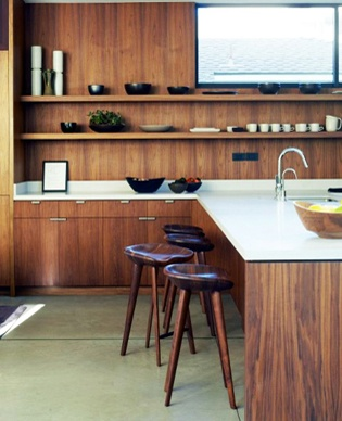 Marmol Radziner Shop Services Custom Wood Cabinets Furniture and Fixtures