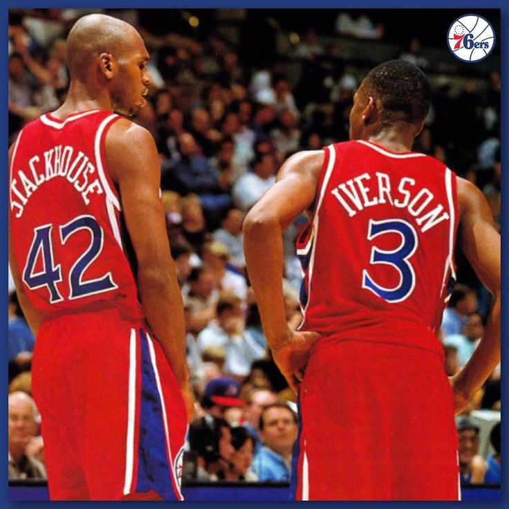 """November 5 1974 - Jerry Stackhouse was born in Kinston North Carolina. Happy 43rd Birthday Jerry Stackhouse! Stackhouse was selected in the first round of the 1995 NBA draft with the third pick by the Philadelphia 76ers. At one time he was hyped as the """"Next Jordan"""" since both players played at North Carolina went #3 in the draft were listed at 6'6"""" looked similar physically and had similarly acrobatic games. Coincidentally both had a taller power forward from UNC drafted immediately after…"""