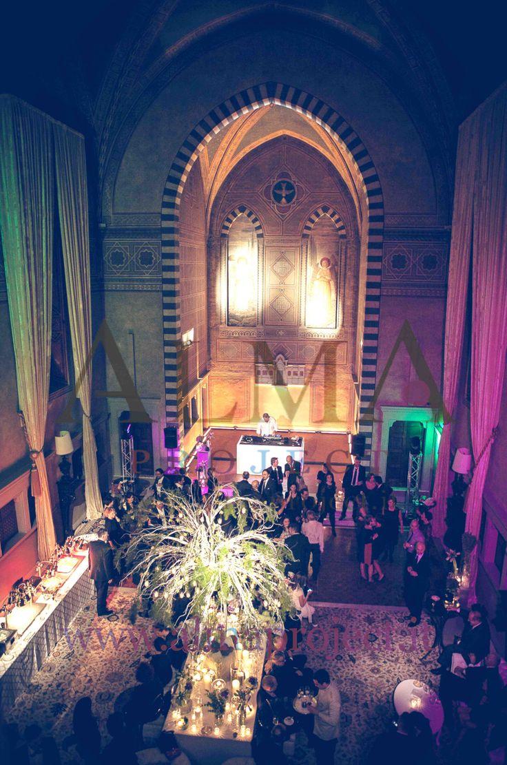 ALMA PROJECT @ Four Seasons Florence - Purple - Amber - Green - lighting 449