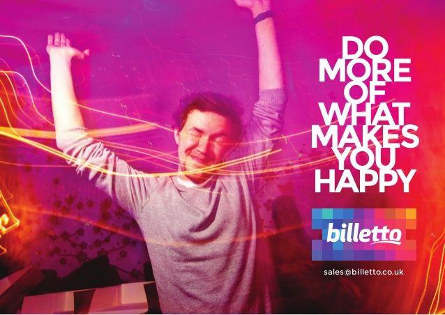 Det kan vi hjælper dig med. #billetto #billettouk #howwefeel #havingfun
