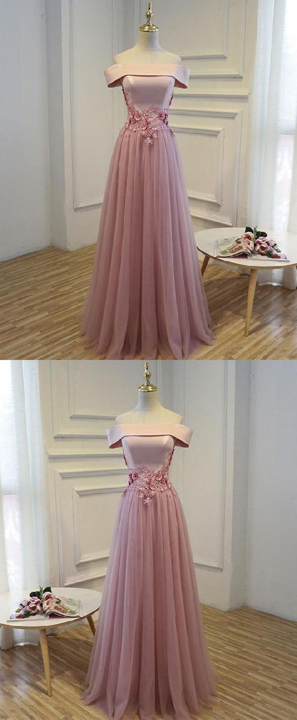 Pink prom dresses aline prom dresses lace prom dresses luu