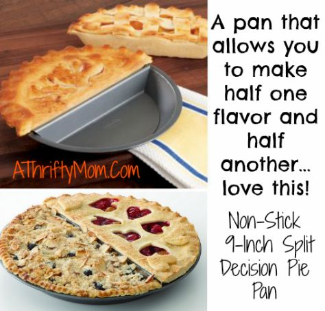 CHICAGO METALLIC NON-STICK 9-INCH SPLIT DECISION PIE PAN ~ MOTHERS DAY GIFT IDEA