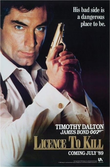 james bond 007 posters   JAMES BOND 007 - licence to kill Poster - Europosters