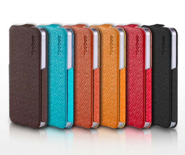 Yoobao Stylish Flip Leather Cover Case For Apple iPhone 5  $29.99 at zenwer.com