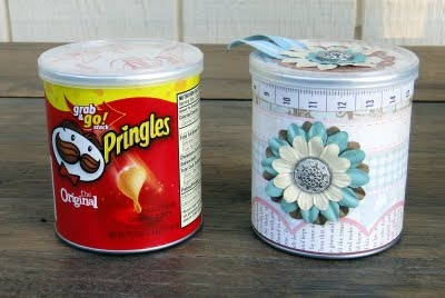 Altered pringles can