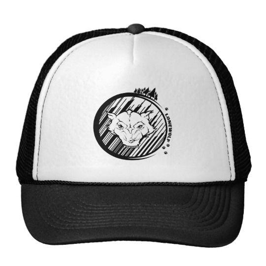 Lonewolf Trucker Hat