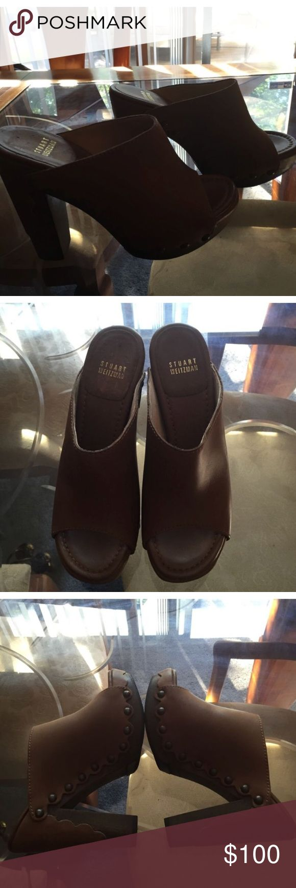 Stuart Weitzman studded clogs Stuart Weitzman studded clogs Stuart Weitzman Shoes Mules & Clogs