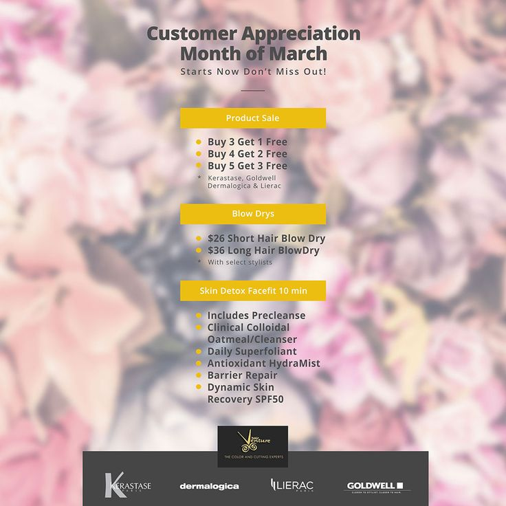 'March Customer Appreciation Month' at HairVenture
